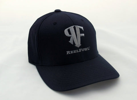 ReelFowl Flex Fit Hat - Navy