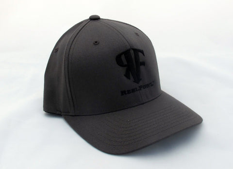 ReelFowl Flex Fit Hat - Grey