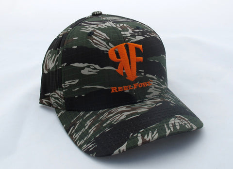 ReelFowl Snap Back Hat - Ripstop Camo