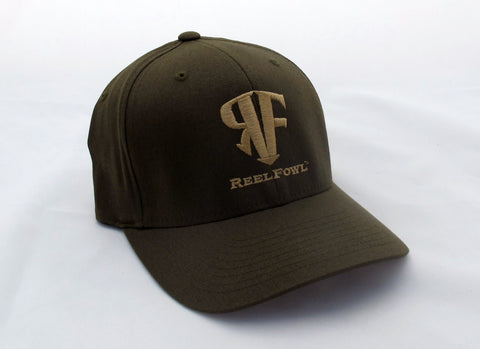 ReelFowl Flex Fit Hat - Olive