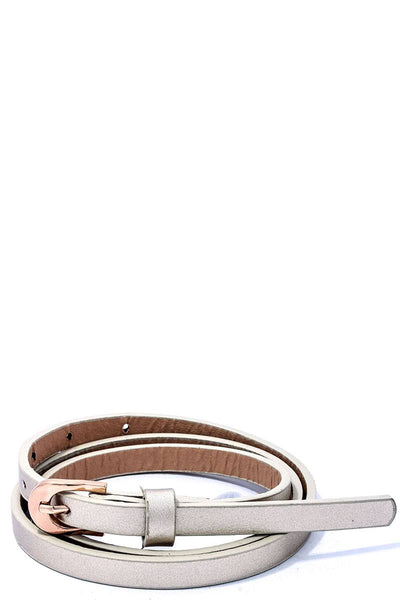 Modern Stylish Skinny Belt
