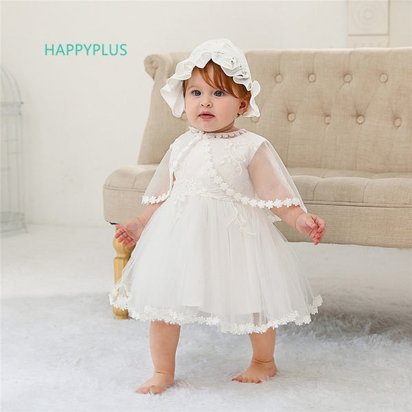 HAPPYPLUS Baby Dress for Baptismal Sets