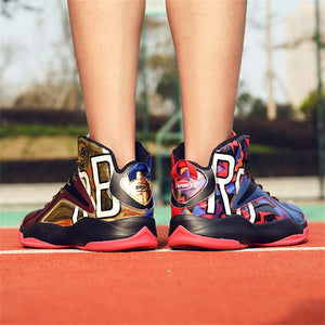 Hot Sale Basketball Shoes Comfortable High Top Gym
