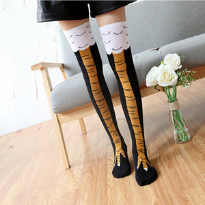 s Fashion Creative Women Chicken Stockings