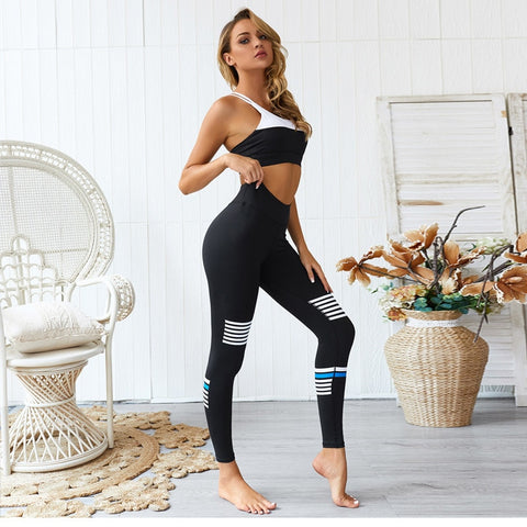 Gym Set Fitness Women Tracksuit 2 piece sports Set
