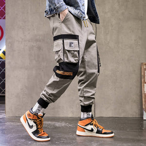 Fashion Cargo Pants Men Hiphop