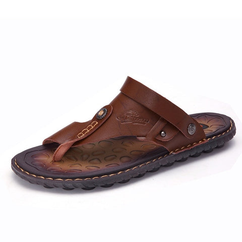 Genuine Cow Leather Sandals
