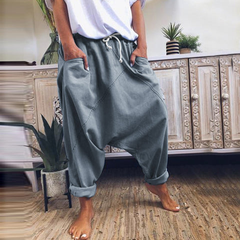 Women Casual Hip Hop Loose Trousers
