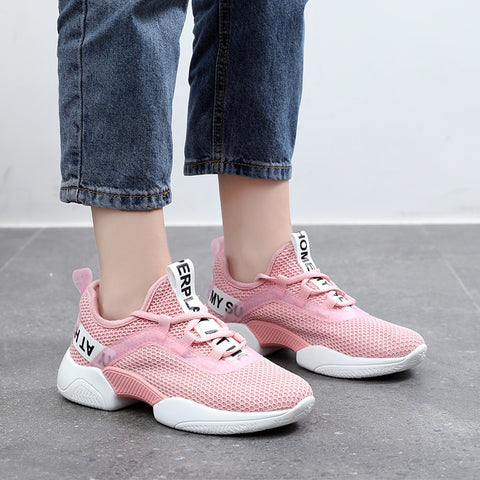 Light Lace-up Outdoor Athletic tennis shoes