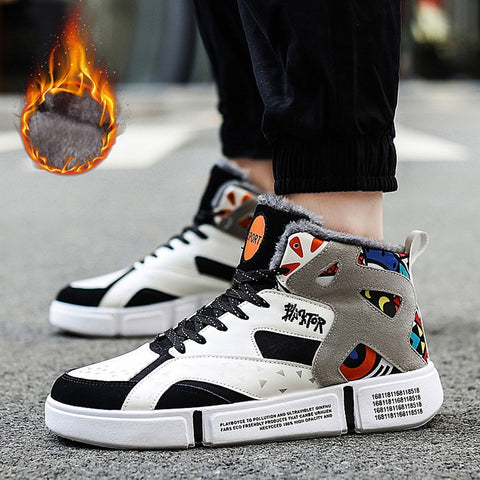 Men Professional High-top Basketball Shoes