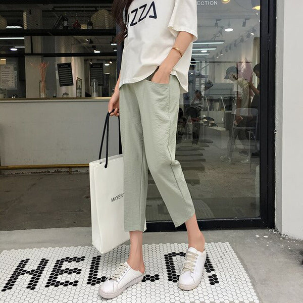 Pants Clothes for Pregnant Women Pregnancy Short Trousers