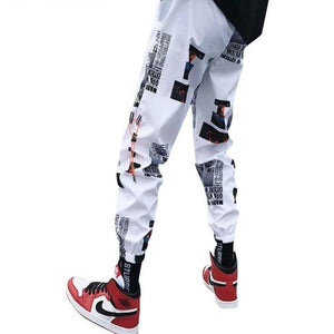 Harem Pants Streetwear Hip hop Tactical Pants
