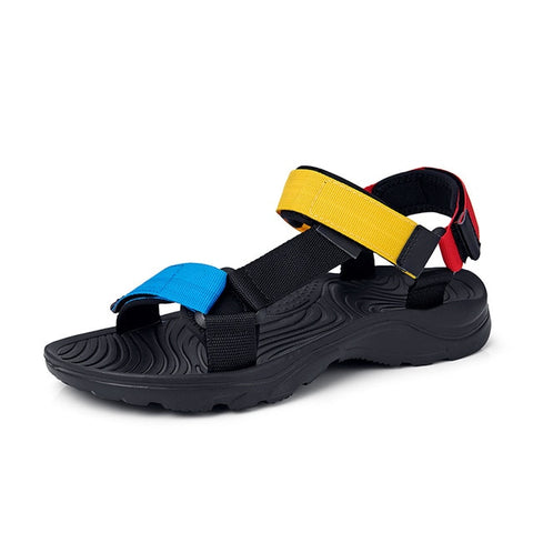 Flat Light Hook Loop Casual Sandals