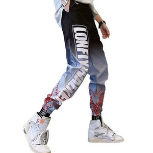 Loose Streetwear Tactical Pants Men