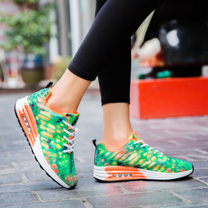 Colorful Air Cushion Couple Tennis Shoes