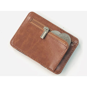 Men's Leather Card-Holder Wallet