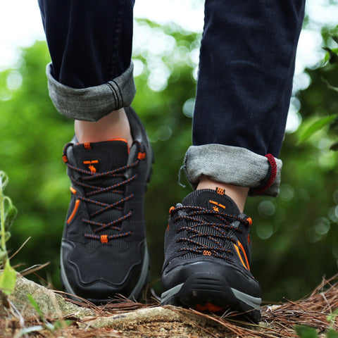 2019 New Autumn Winter Sneakers Men Shoes Casual Outdoor Hiking Comfortable Mesh Breathable Male Footwear Non-slip