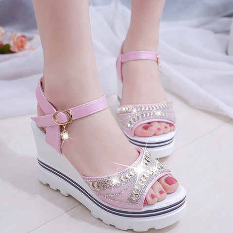Women Sandals Summer Fashion Pumps Platform