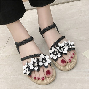 Summer Shoes Woman Sandals Elastic ankle strap