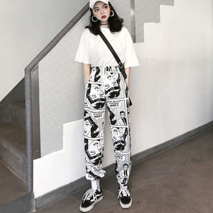 Summer Harajuku loose Trousers