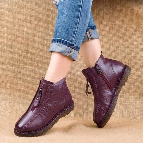 Boots For Women Winter Suede