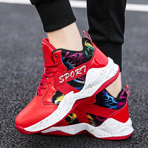 Basketball Shoes Men High Sneakers Men Casual Shoes