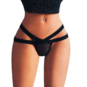 Sexy Lingerie Underwear Women 2020 Sexy Lingerie G-string Mesh Briefs Underwear Panties T String Thongs Knick Lenceria Hot Sale