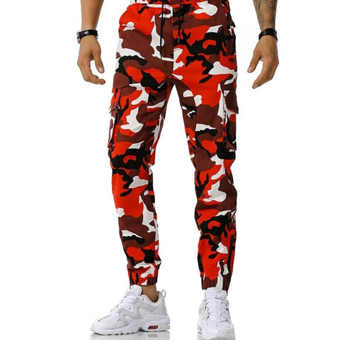 Camo Harem Pants Men