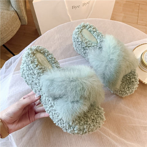Winter Women House Slippers