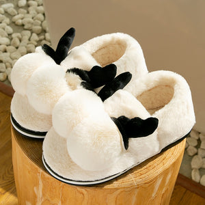 Winter women's slippers