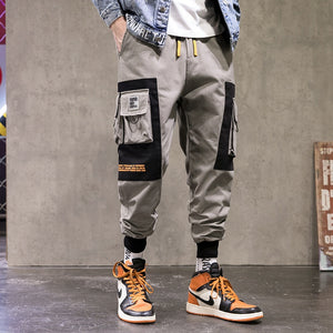 Hip Hop Multi-pocket Pants