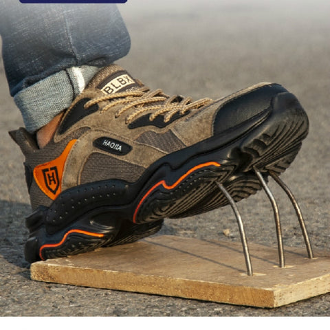 Safety Shoes Steel Toe Shoes Work Men