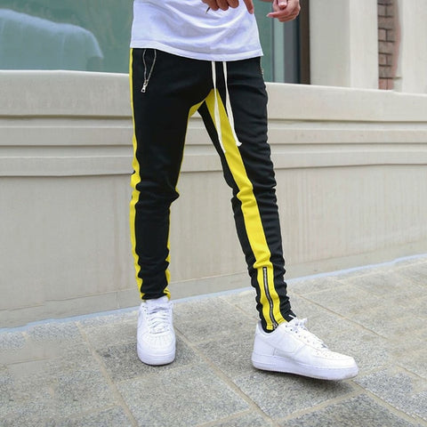 Zipped Ankle Track Pant Men