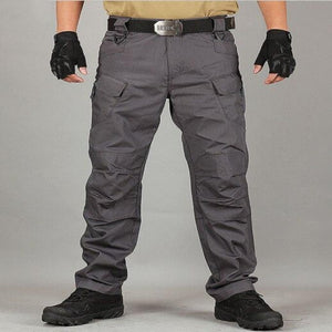 Men Tactical Pants Multiple Pockets
