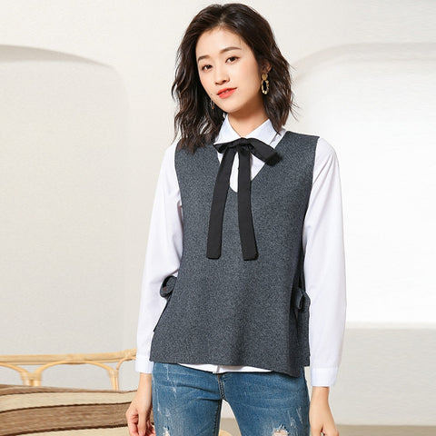 Sweater Women Pullover Vest