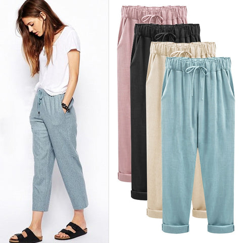 Casual Fashion Spring Bottoms Trousers
