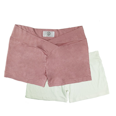 Super Stretch Cotton Pregnant Shorts