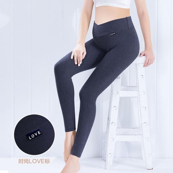 Pants Spring high extend elastic fabric.