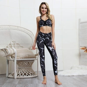 2 pcs High Waist Sport Suit