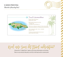 Load image into Gallery viewer, Jamaica Boarding Pass Save the Date