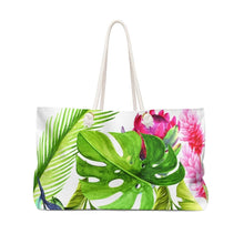 Load image into Gallery viewer, Tropical Weekender Bag