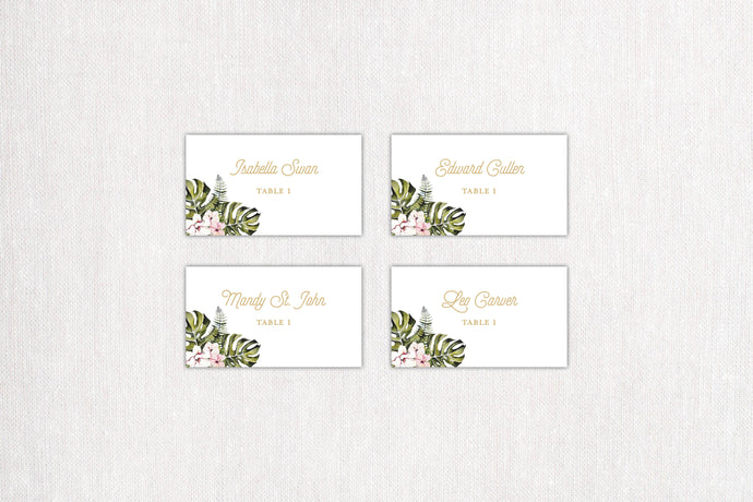 Casablanca Place/Escort Cards