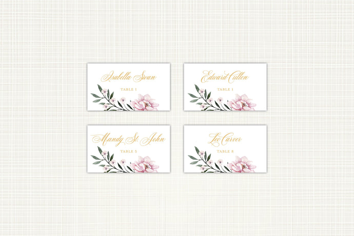 Royal Flamingo Place/Escort Card