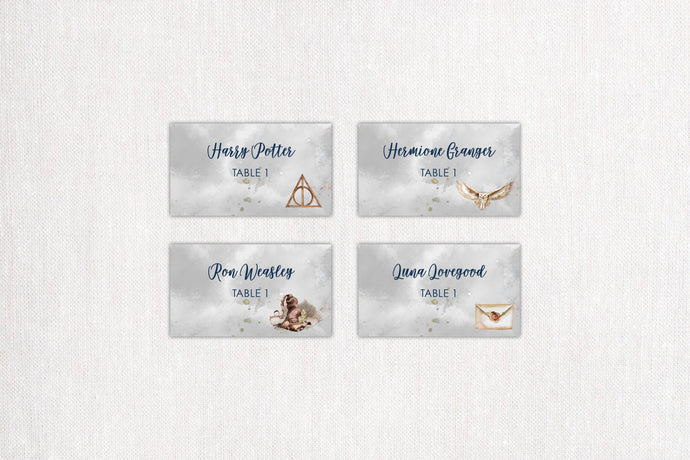 Magical Place/Escort Cards