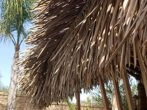 C7 Synthetic Artificial Thatch Panel F/R - Palapa Umbrella Thatch Company Online