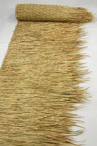 "Mexican Palm Tiki Thatch Runner Roof Roll 30"" x 60' - Palapa Umbrella Thatch Company Online"