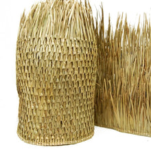 "Load image into Gallery viewer, Mexican Palm Tiki Thatch Runner Roof Roll 48""x 10' - Palapa Umbrella Thatch Company Online"