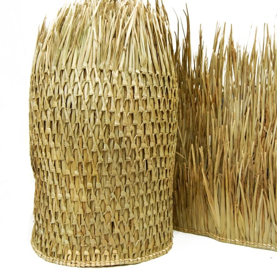 Mexican Palm Tiki Thatch Runner Roof Roll 48