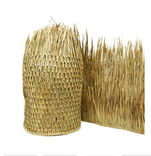"Load image into Gallery viewer, Mexican Palm Tiki Thatch Runner Roof Roll 48""x 3' - Palapa Umbrella Thatch Company Online"