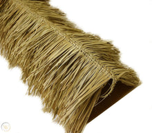 "Load image into Gallery viewer, Mexican Tiki Palm Thatch Ridge Cap Roll 30""x 15' - Palapa Umbrella Thatch Company Online"